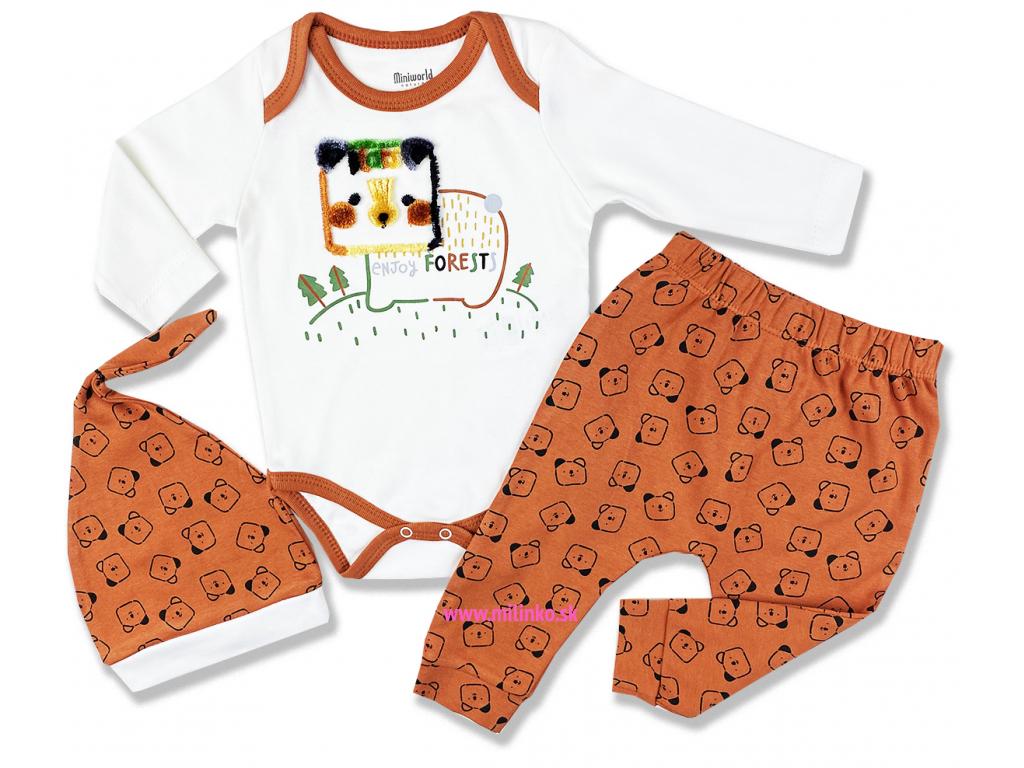 3dielny kojenecký set forest1