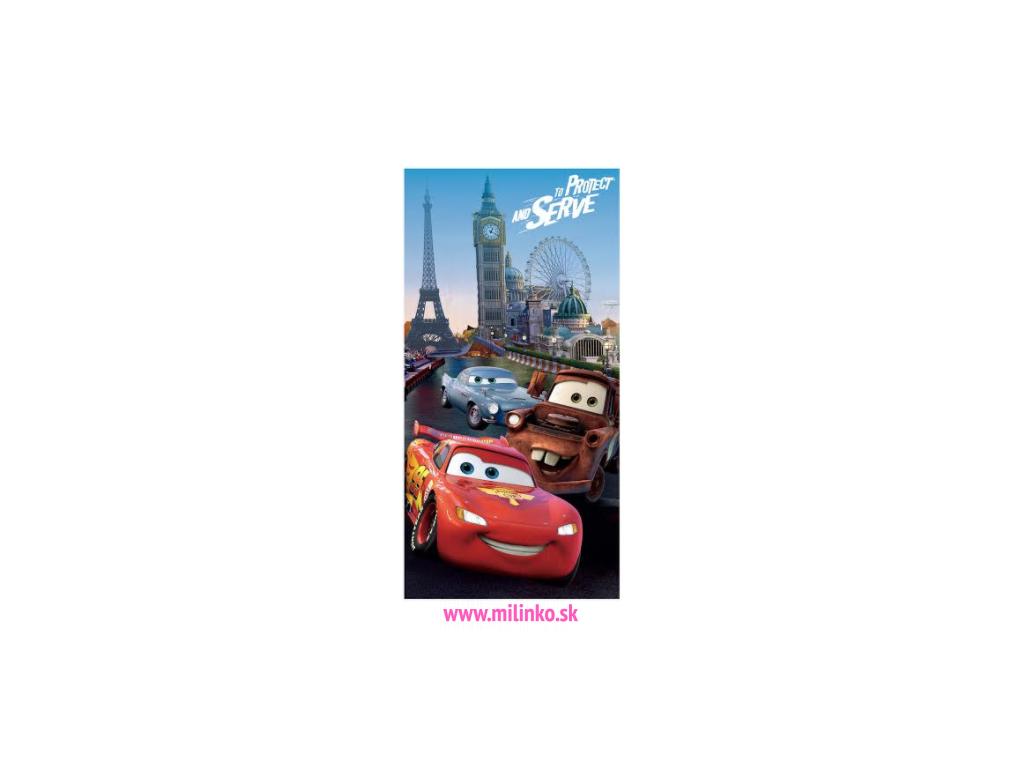 Disney osuška CARS