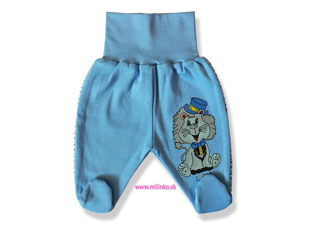 Polodupačky pre bábätká - LION, modré