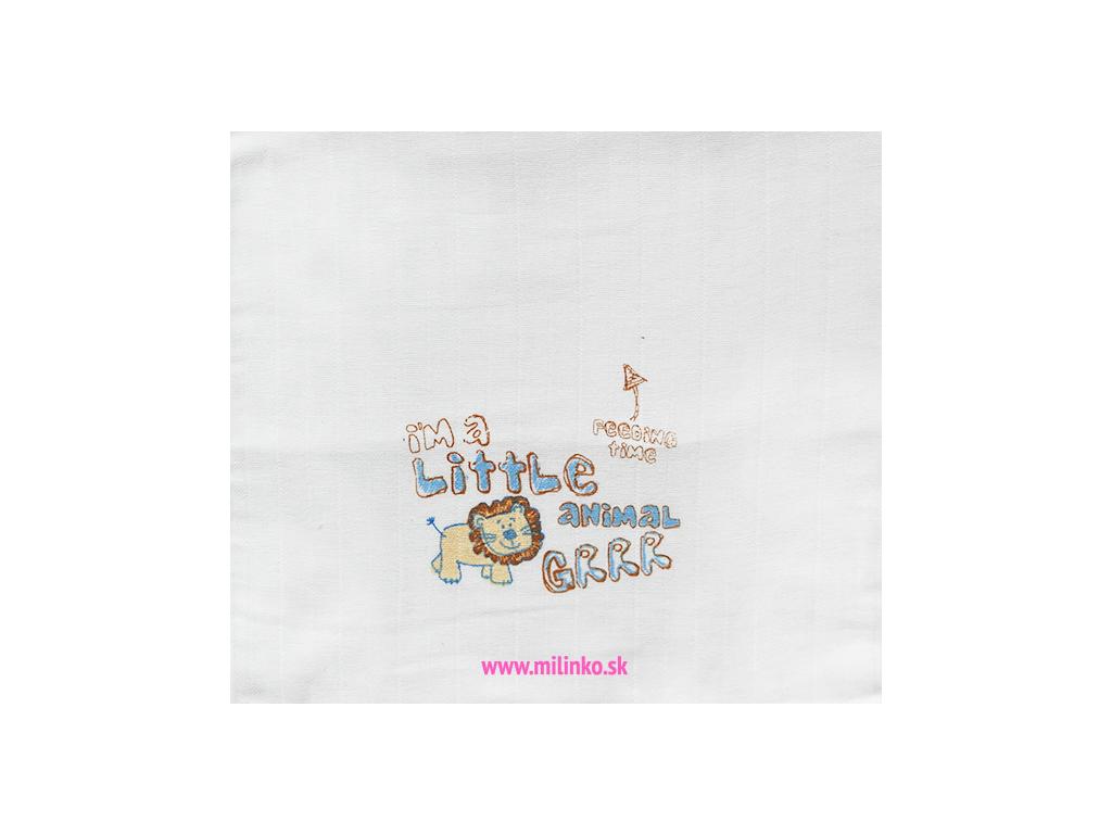 Detská bavlnená plienka - Little animal
