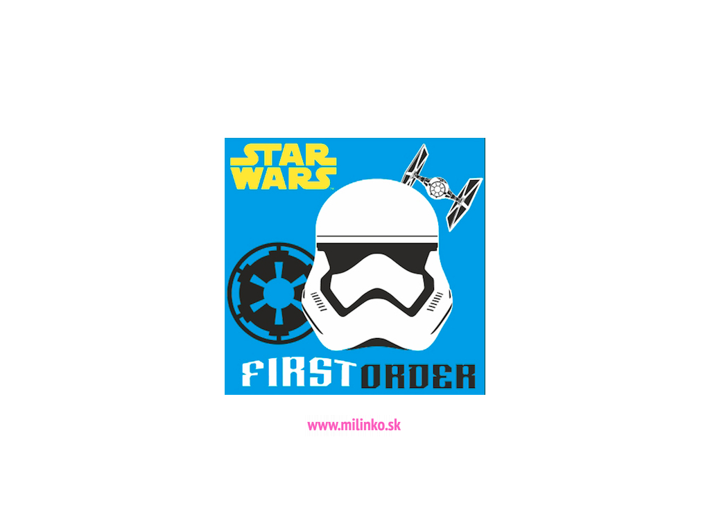 Detský plyšový vankúš - STAR WARS, bl.modrý