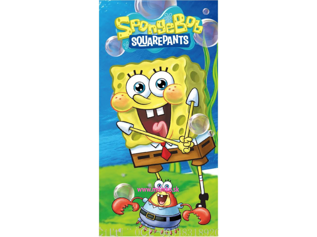 osuška pre deti spongebob1