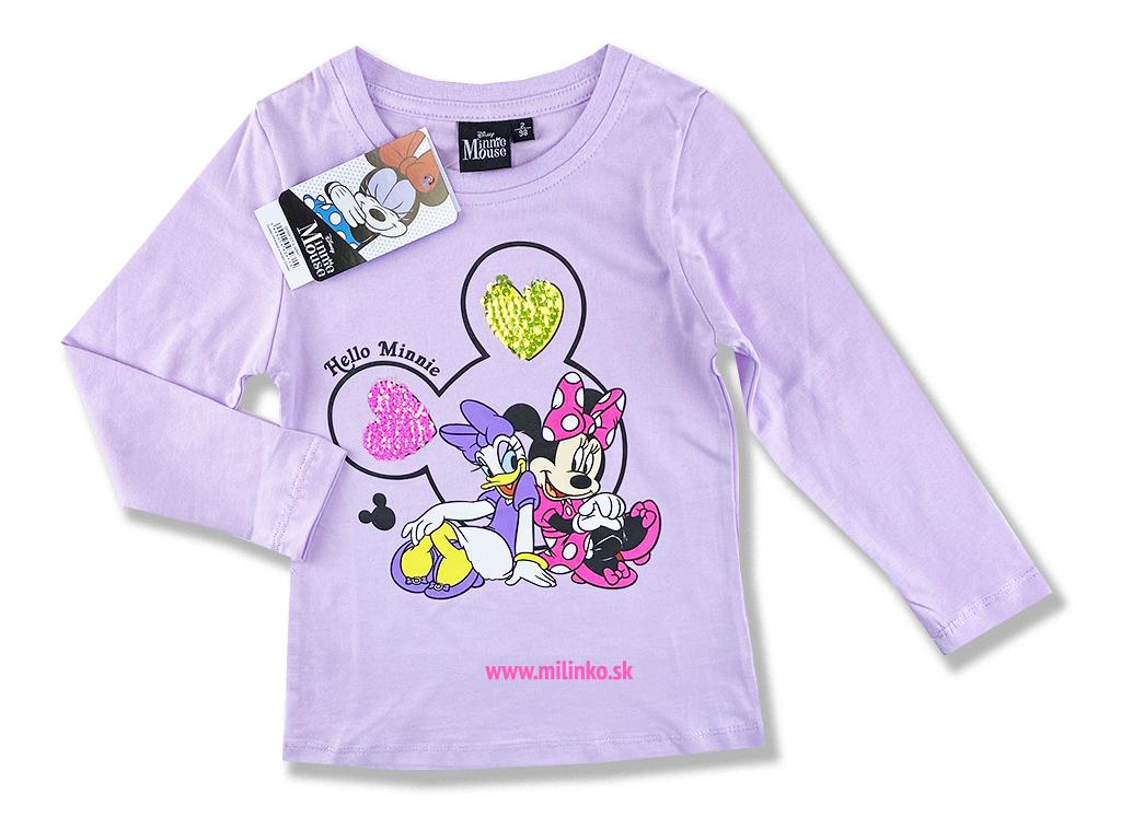 Dievčenské tričko - MINNIE MOUSE 13793ca5533