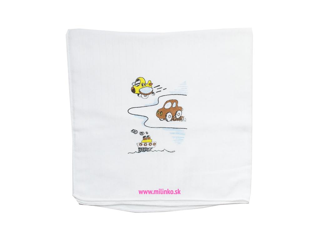 Detská bavlnená plienka - LOĎKA