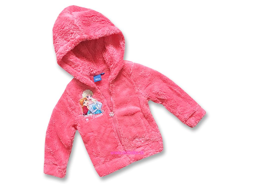 Dievčenský plyšový sveter - Frozen 7e908d76586