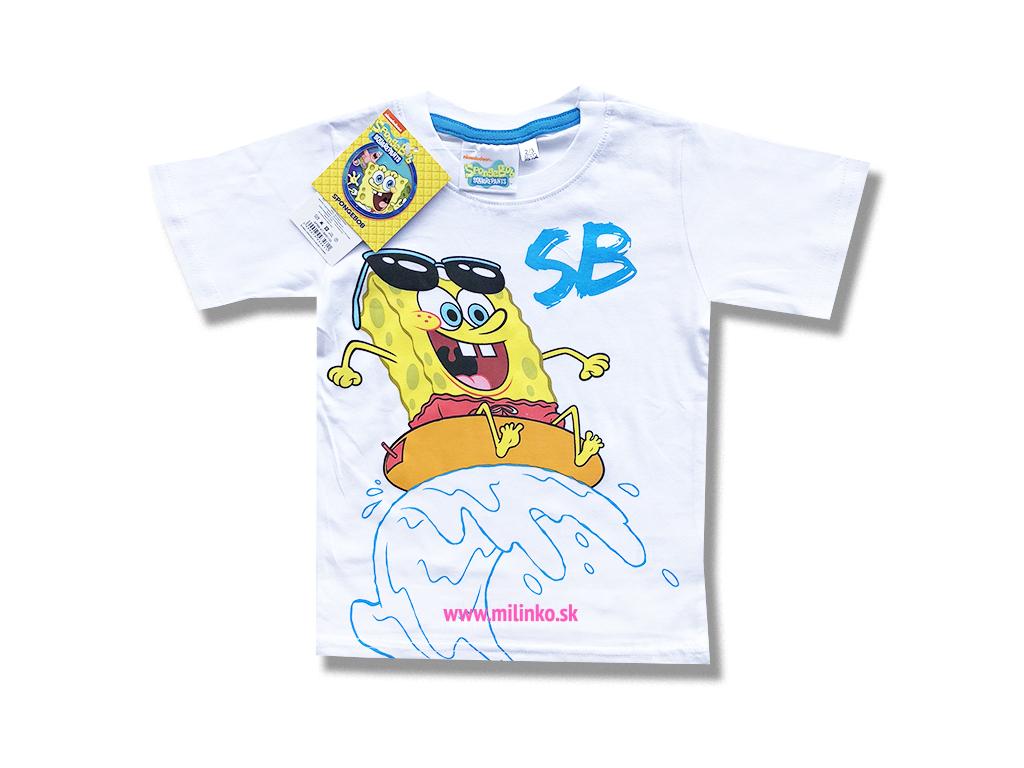 detské oblečenie spongebob