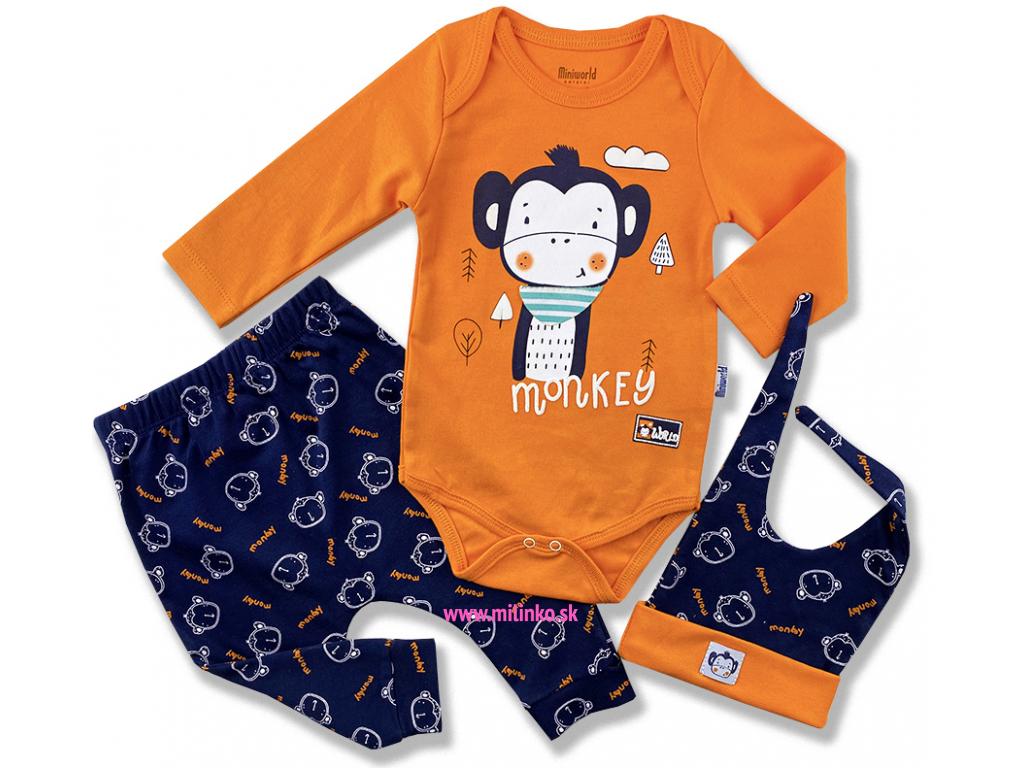 oblečenie pre bábätká set zajko plyš