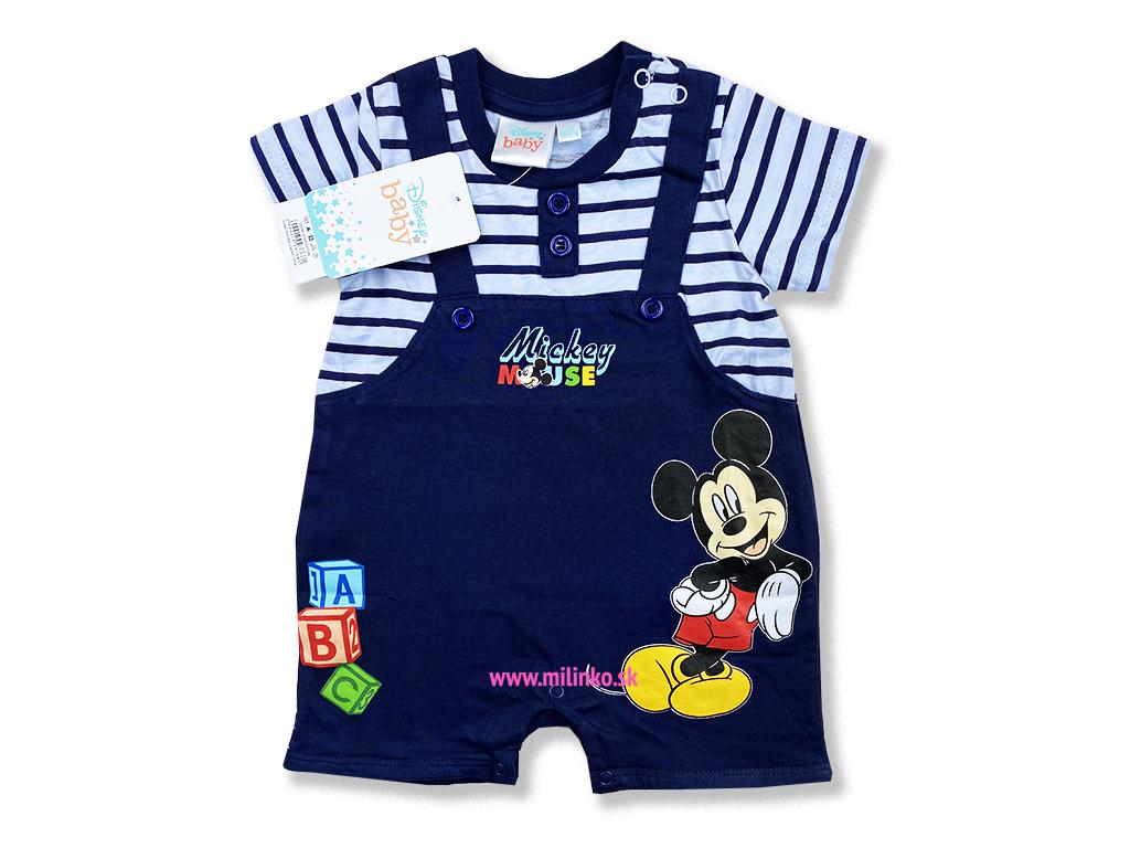 kojenecké oblečenie overal mickey1