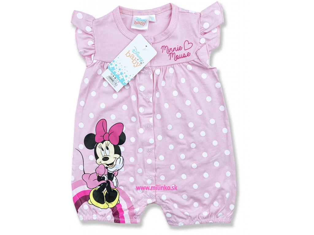 kojenecké oblečenie overal minnie2