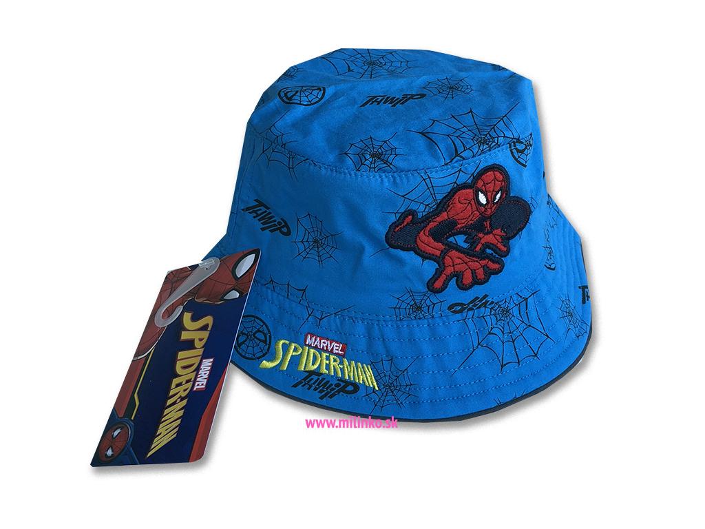 čiapka pre bábätká spiderman1