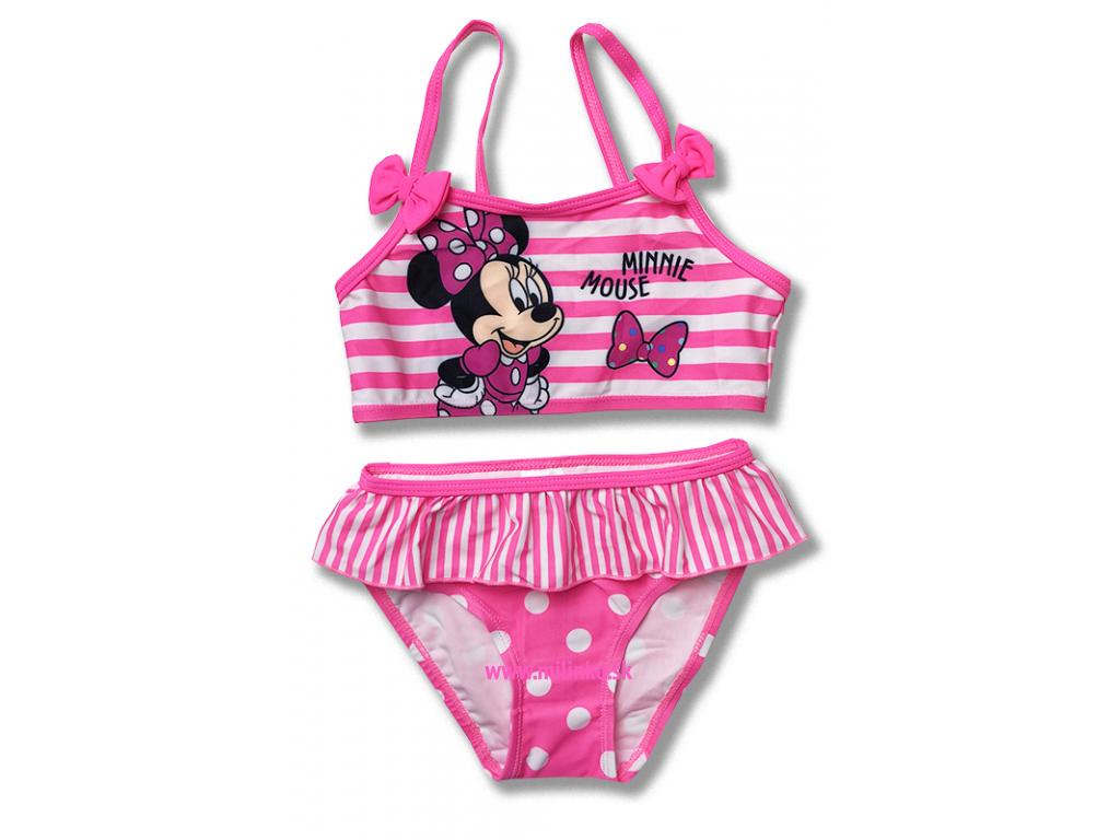 1cce679a3 Dvojdielne plavky pre dievčatá- Minnie - Eshop-Milinko