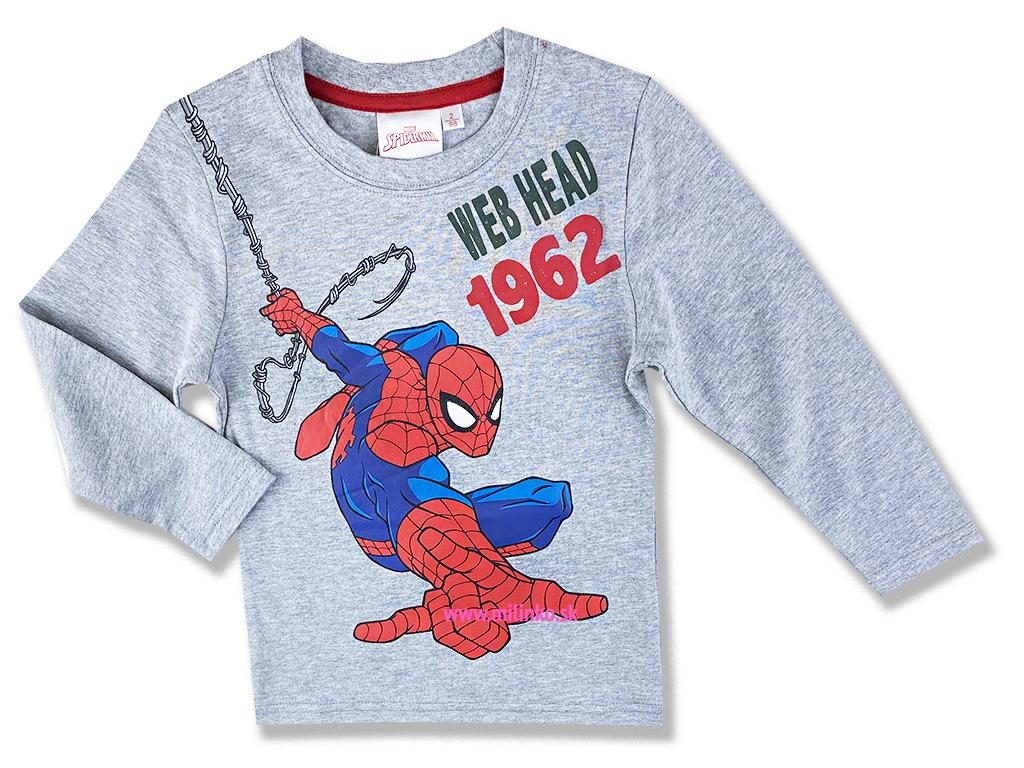 oblečenie pre deti tričko spiderman1