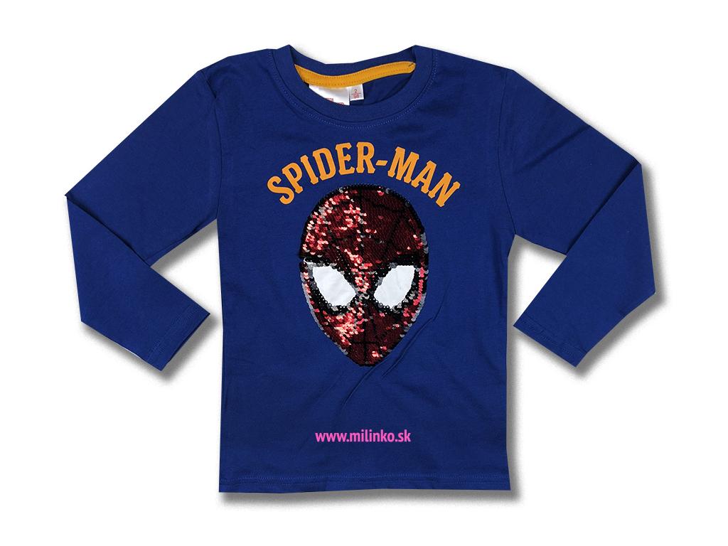 detské oblečenie tričko spiderman3