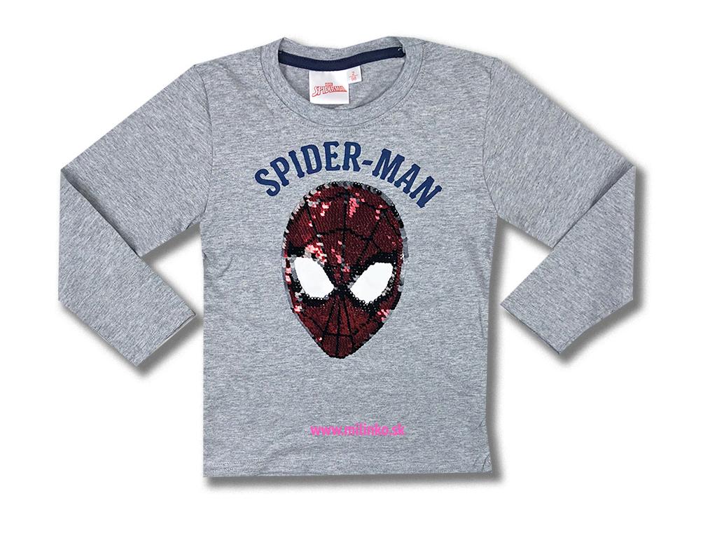 detské oblečenie tričko spiderman1