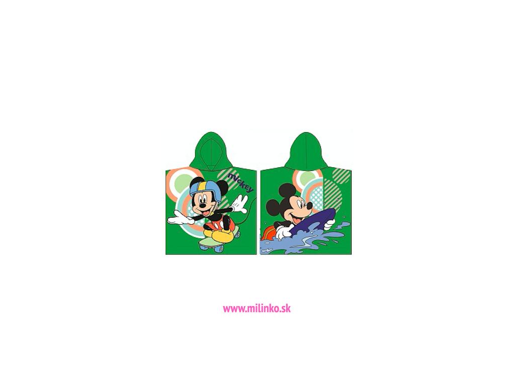 pončo pre deti mickey mouse