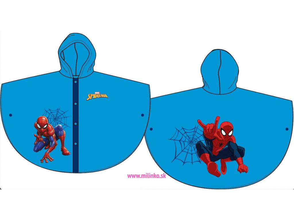 prsiplášť pre deti spiderman