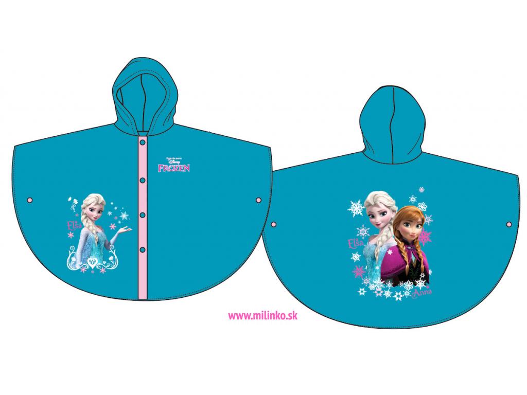 prsiplášť pre deti frozen2