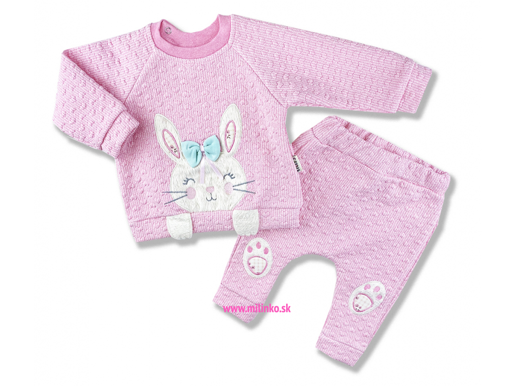kojenecké oblečenie zajko1