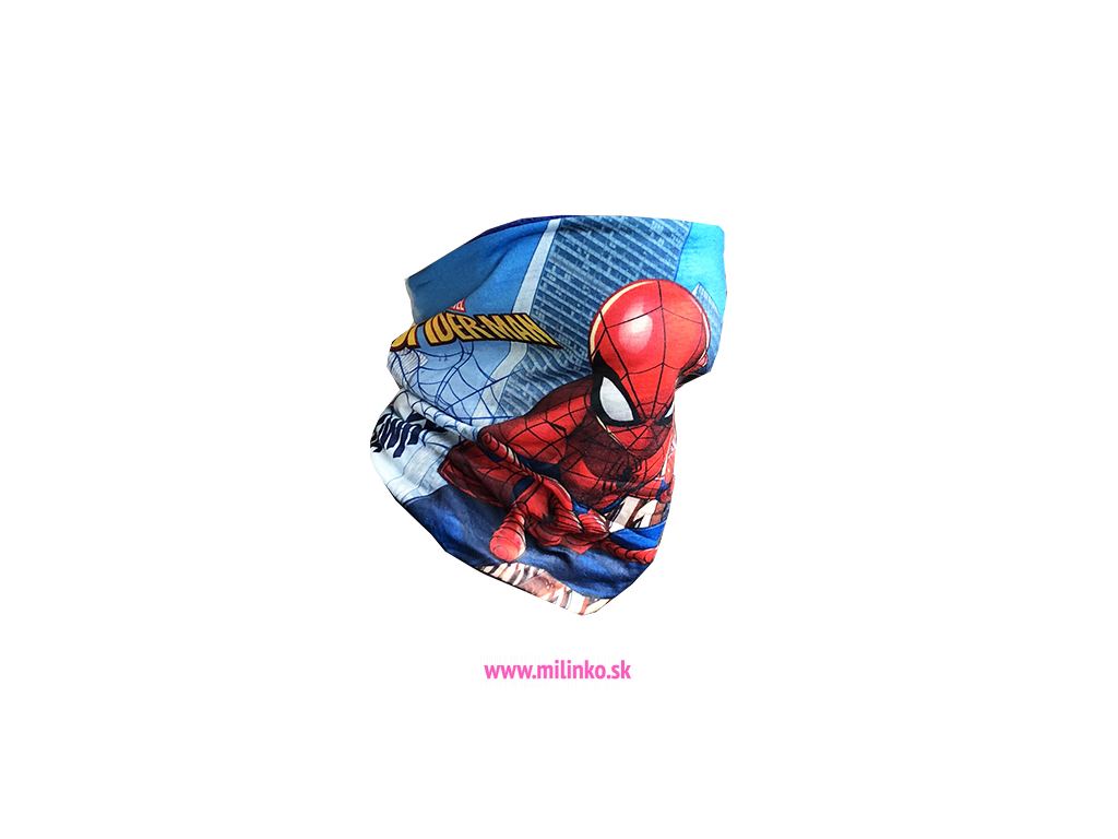 detský šal spiderman