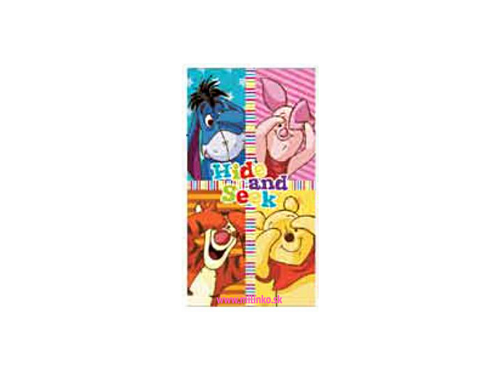 Detský uterák DISNEY - MACKO PU2 (35 x 65)