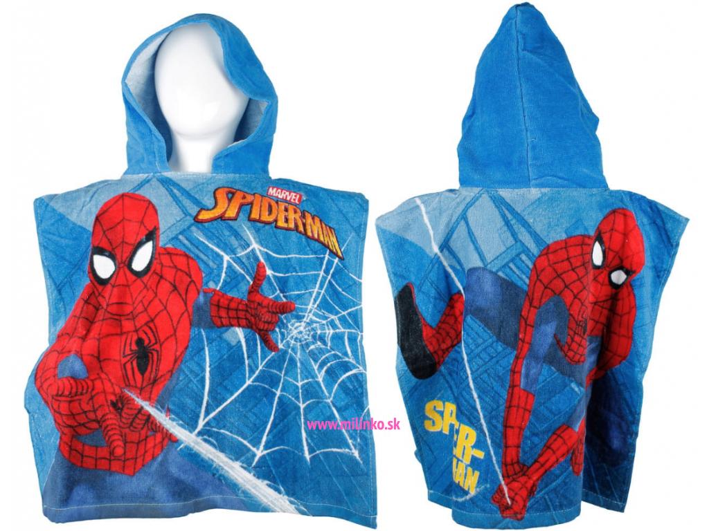 pončo spiderman