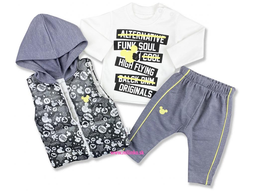 oblečenie pre bábätká mous set