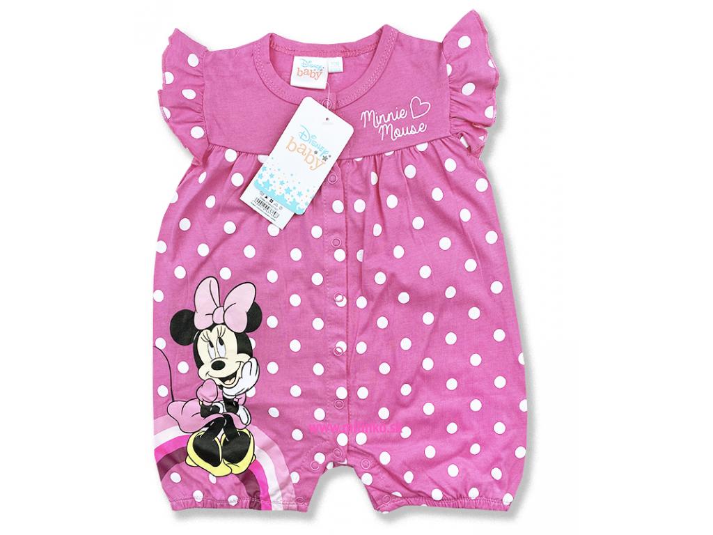 kojenecké oblečenie overal minnie1