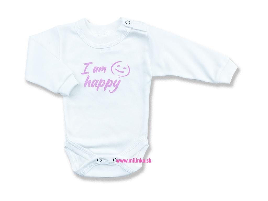 detské body oblečenie pre bábbätká happy