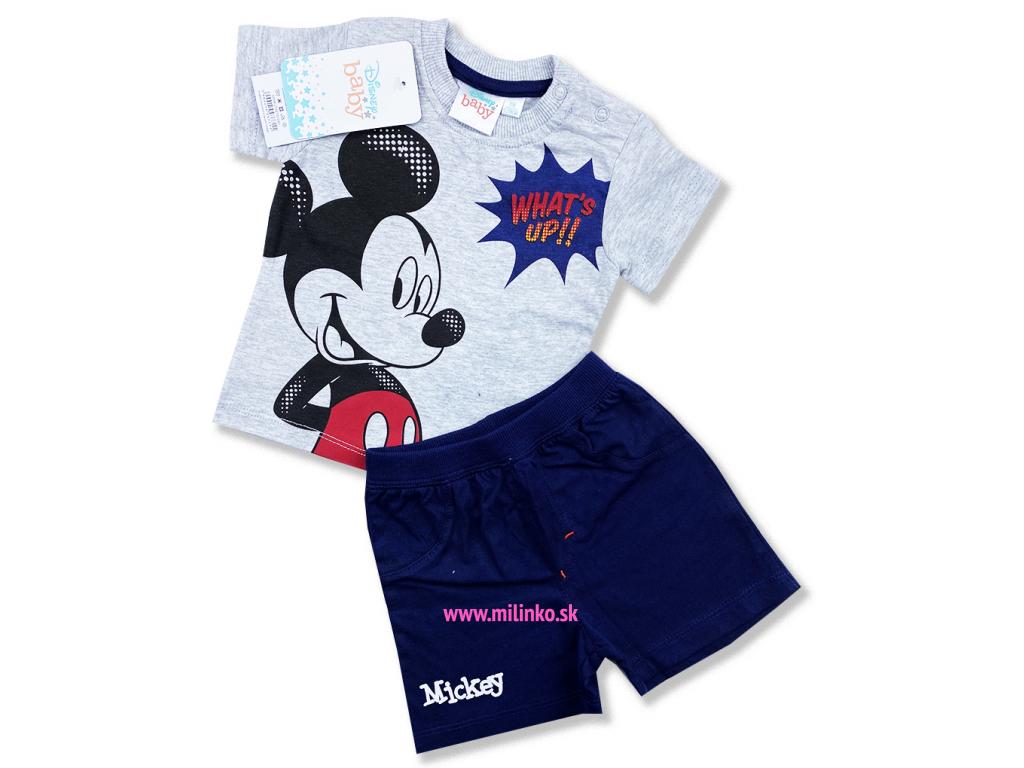 oblečenie pre bábätká letný set mickey1