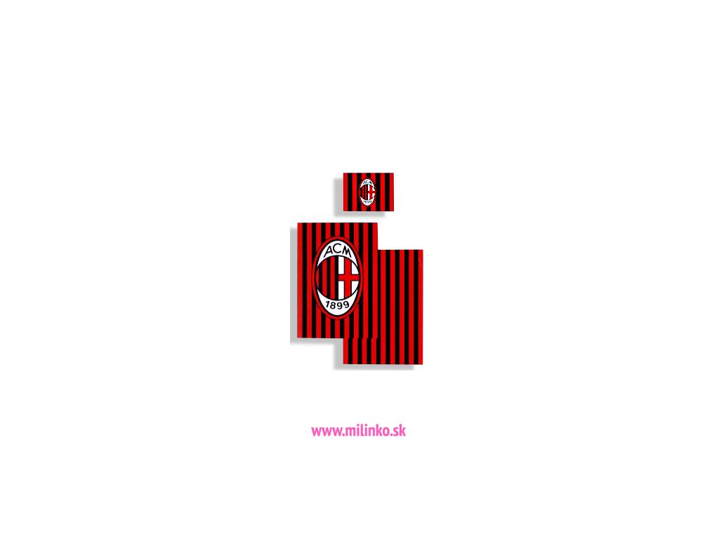 Detské obliečky - AC MILAN (140 x 200)
