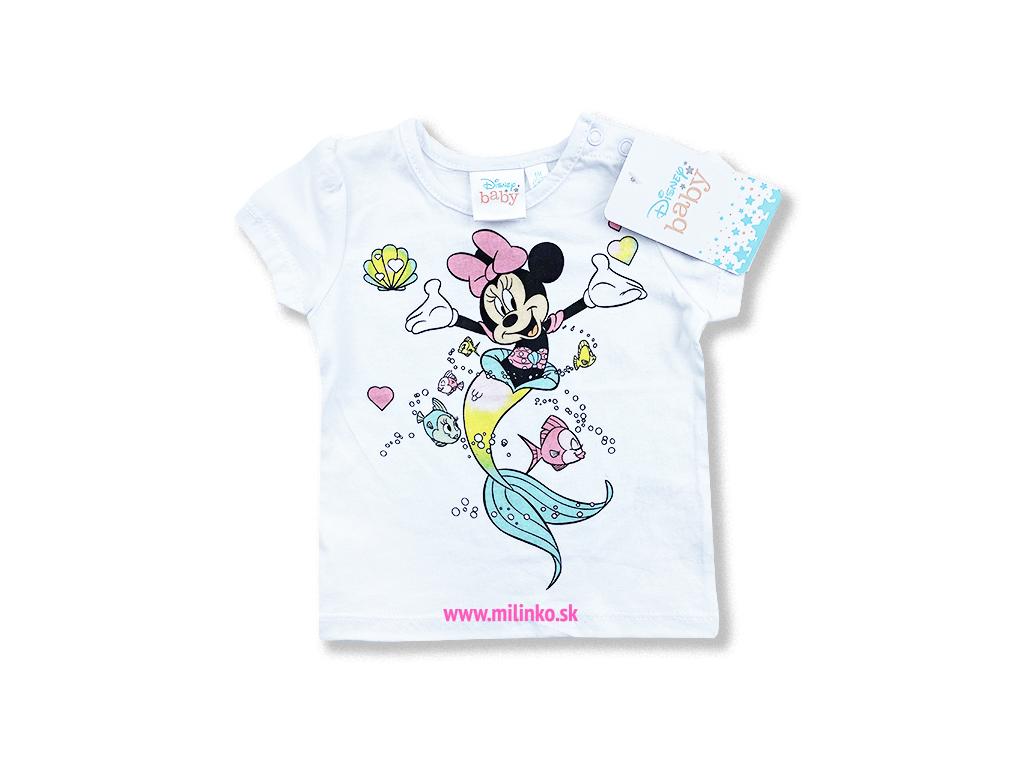 oblečenie pre bábätká minnie tričko1