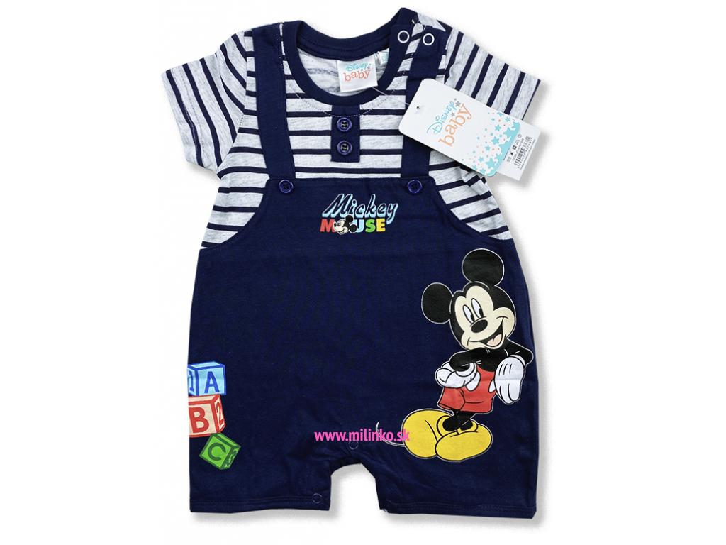 kojenecké oblečenie overal mickey2.