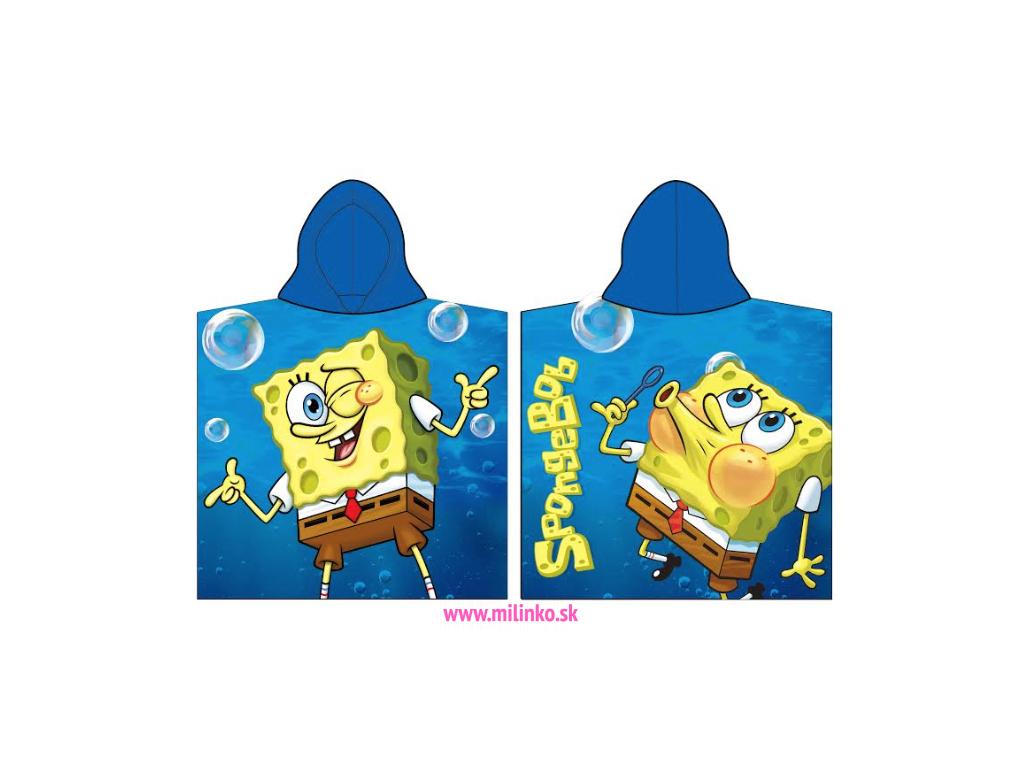 detské pončo spongebob