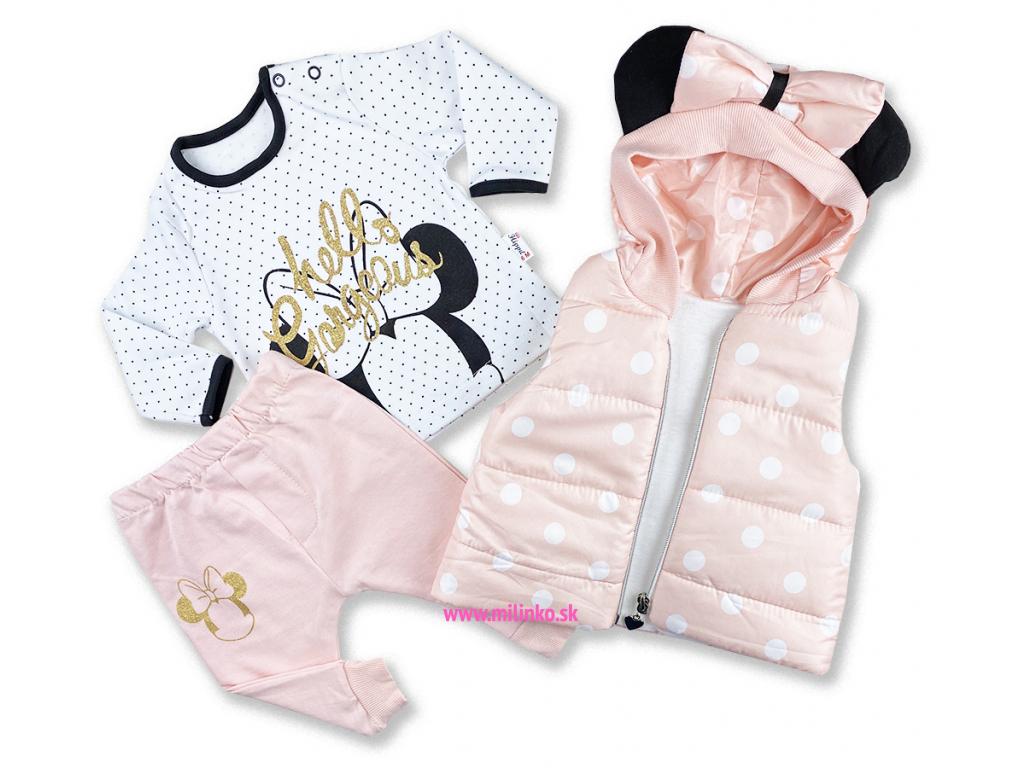 oblečenie pre bábätká broskynova hippil+