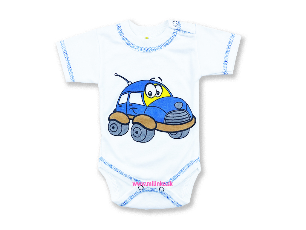 detské body krátky rukáv auto