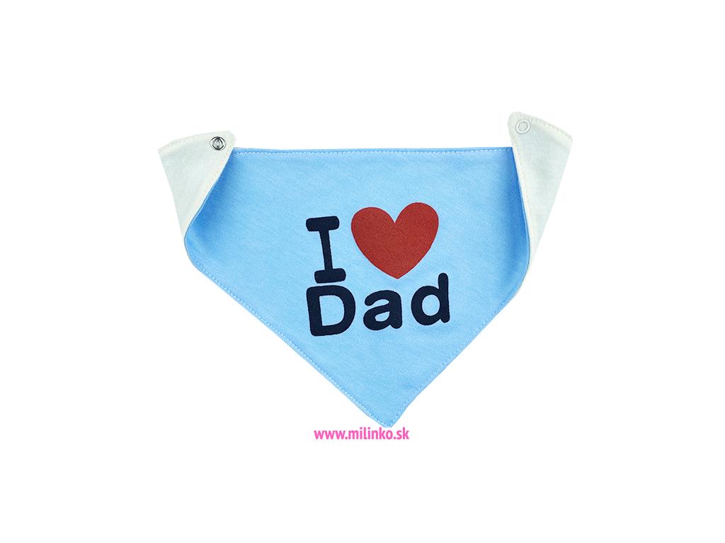 slintáčik pre bábätká dad modré1