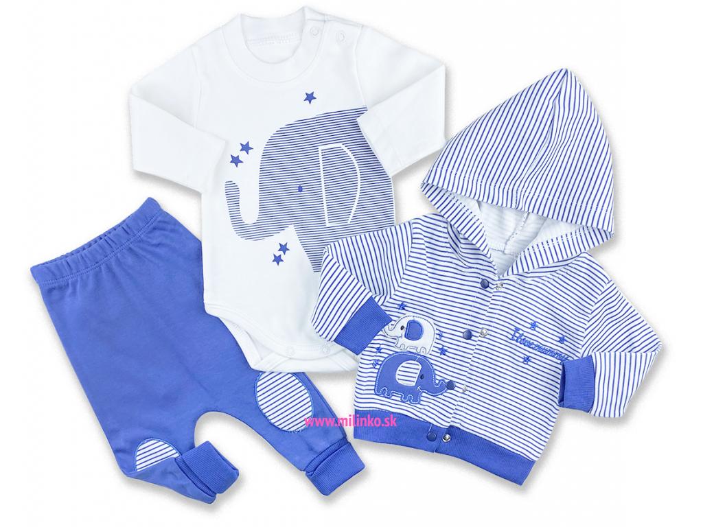 oblečenie pre bábätká sloník otto