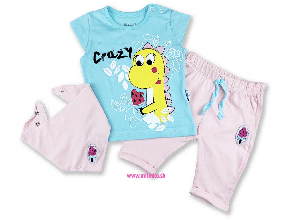 oblečenie pre bábätká dino miniw