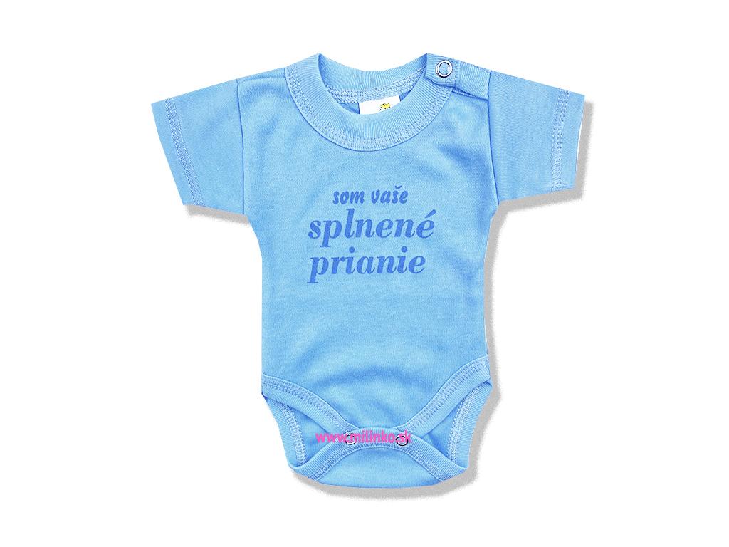 body pre bábätká splnene prianie