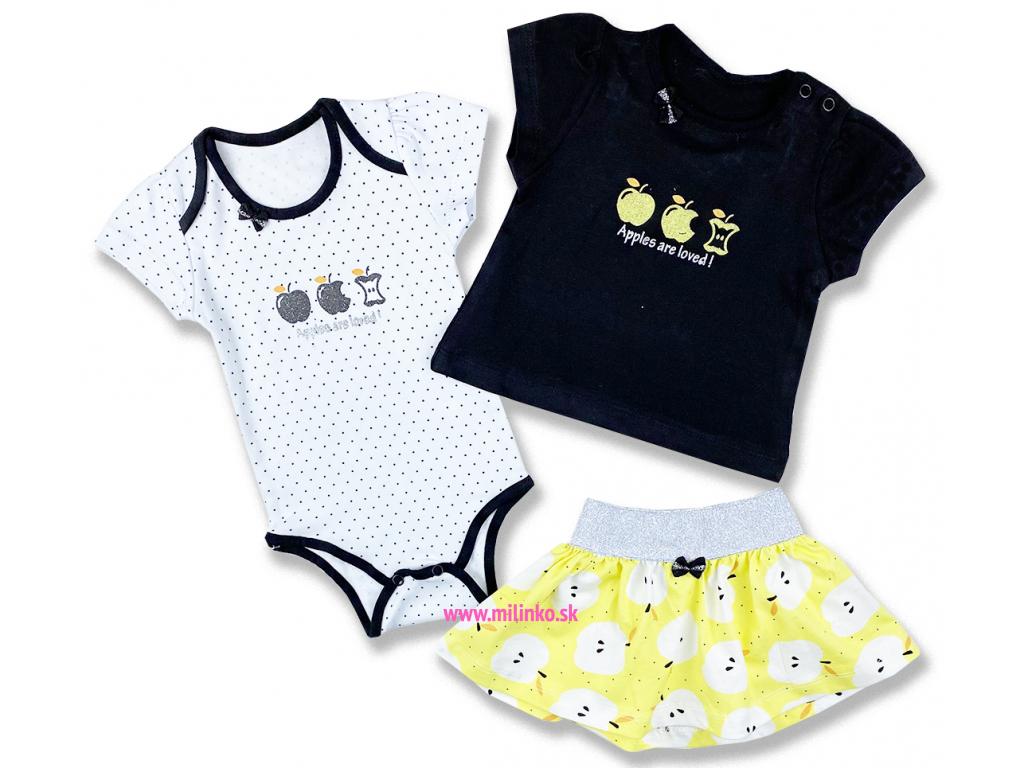 oblečenie pre bábätká letný set hippil1