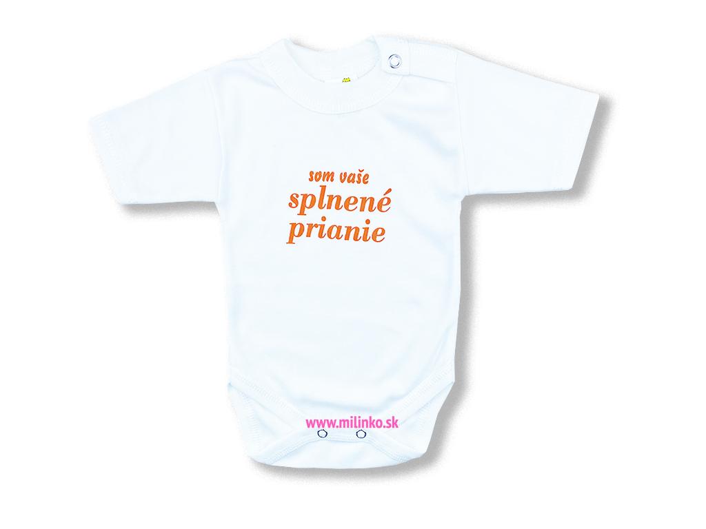 detské body splnene prianie orange1