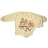 Detské pyžamo - GIRAFFE, žlté