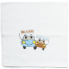 Detská bavlnená plienka s potlačou - BIG CAR
