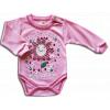Detské body – LITTLE FLOWER, ružové