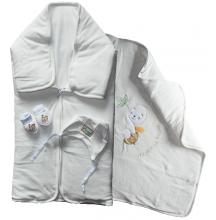 Teplučký spací vak 3v1- BEE, biely
