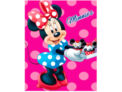 detska deka disney minnie 2