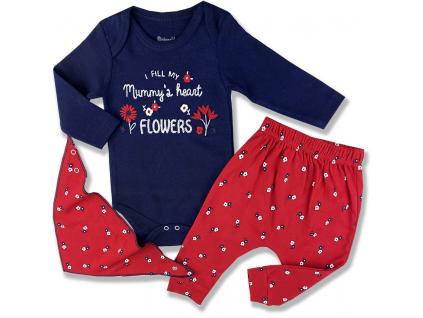 oblečenie pre bábätká, naplním mamičkyne srdce kvetinkamy1