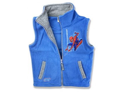 detská vesta spiderman2