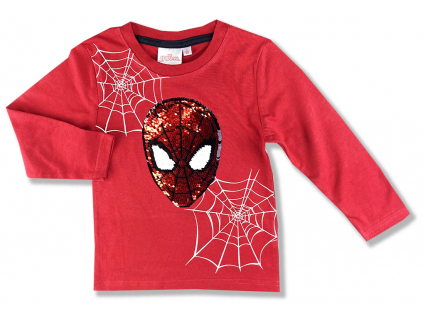 oblečenie pre deti tričko spiderman s flitramyjo