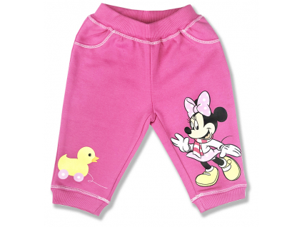 teplé kojenecké nohavice minnie mouse1